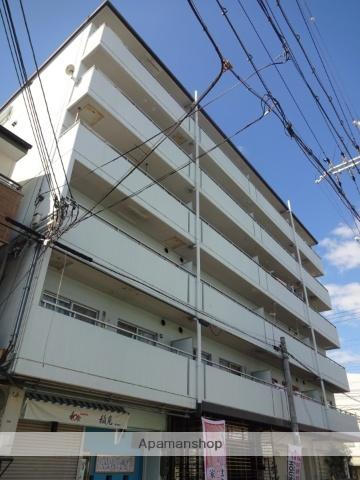 大阪府大阪市東住吉区、南田辺駅徒歩10分の築29年 6階建の賃貸マンション