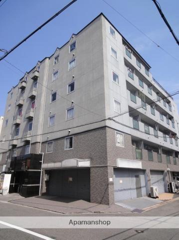 大阪府大阪市東住吉区、美章園駅徒歩6分の築26年 6階建の賃貸マンション