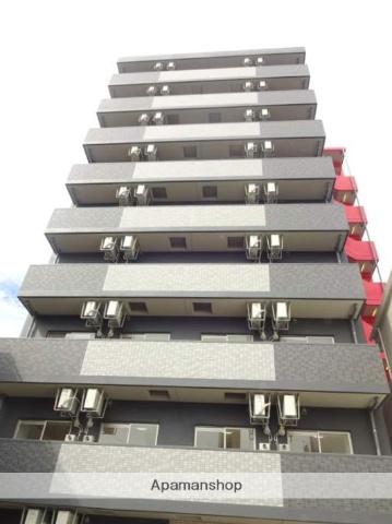 大阪府大阪市西成区、萩ノ茶屋駅徒歩2分の築1年 9階建の賃貸マンション