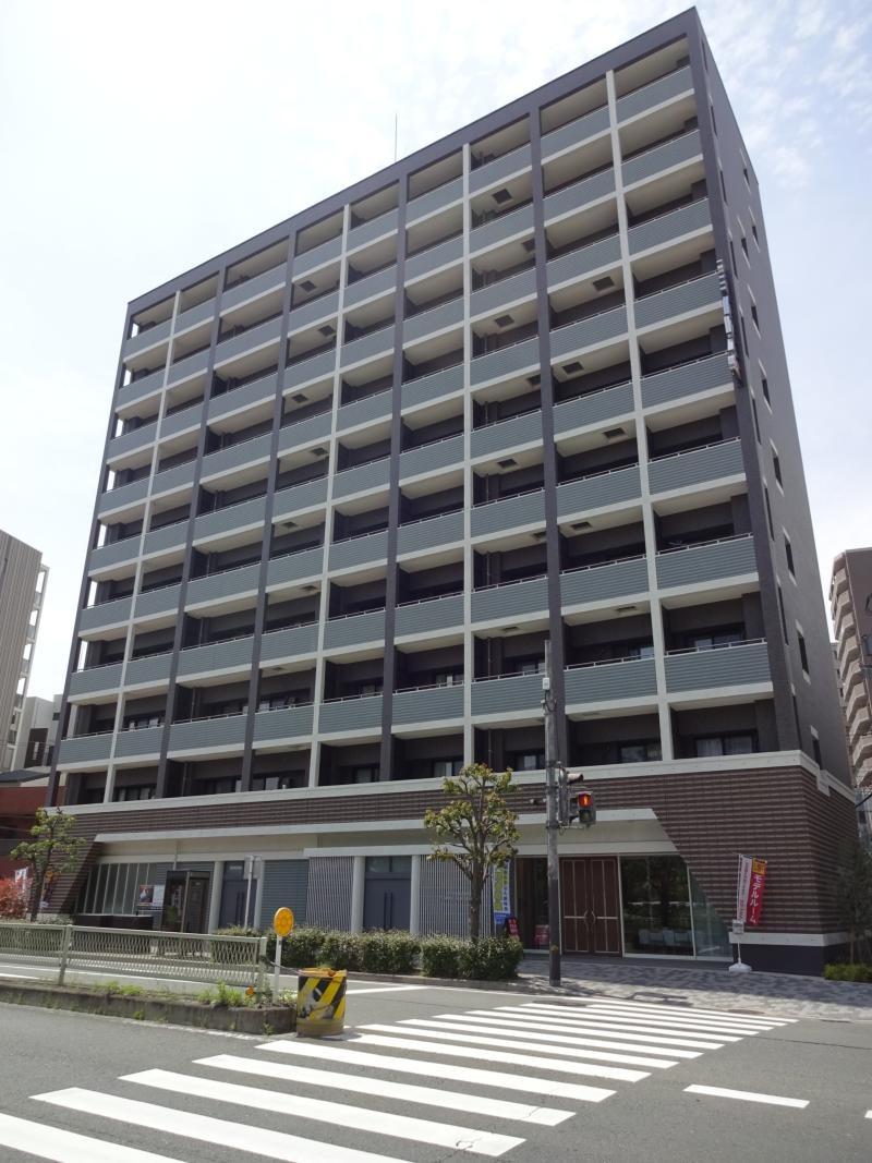 大阪府大阪市中央区、鶴橋駅徒歩15分の新築 10階建の賃貸マンション