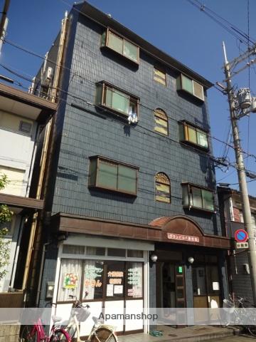 大阪府大阪市東住吉区、針中野駅徒歩18分の築28年 4階建の賃貸マンション