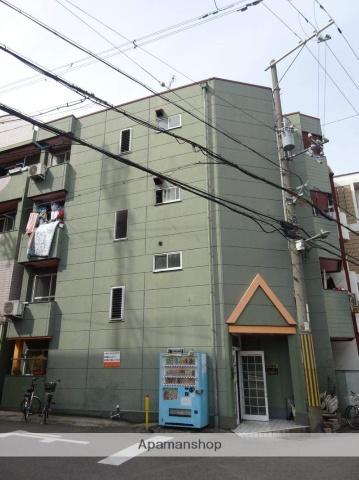 大阪府大阪市西成区、今宮駅徒歩15分の築28年 4階建の賃貸マンション