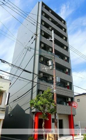 大阪府大阪市阿倍野区、昭和町駅徒歩17分の新築 9階建の賃貸マンション
