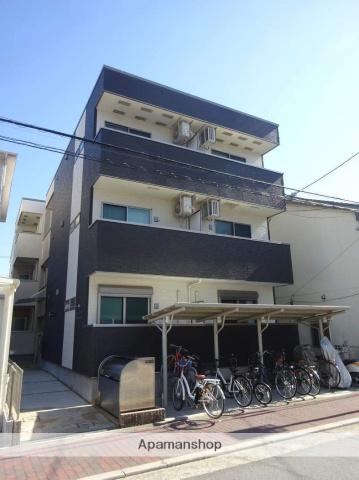 大阪府大阪市住吉区、我孫子町駅徒歩10分の築2年 3階建の賃貸アパート