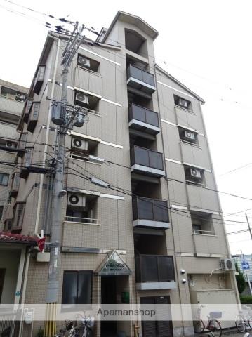 大阪府大阪市平野区、針中野駅徒歩14分の築30年 5階建の賃貸マンション