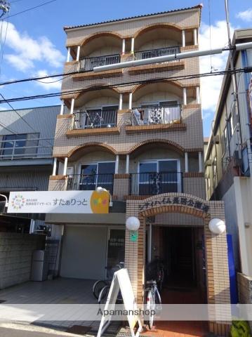 大阪府大阪市東住吉区、針中野駅徒歩17分の築27年 4階建の賃貸マンション