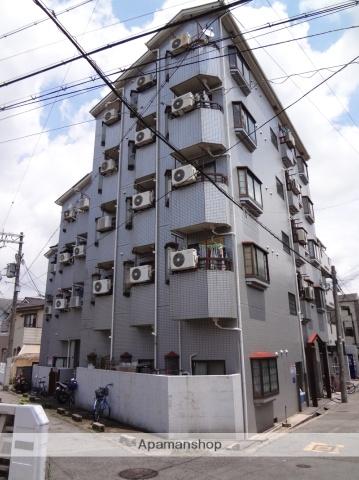 大阪府大阪市東住吉区、今川駅徒歩4分の築26年 5階建の賃貸マンション