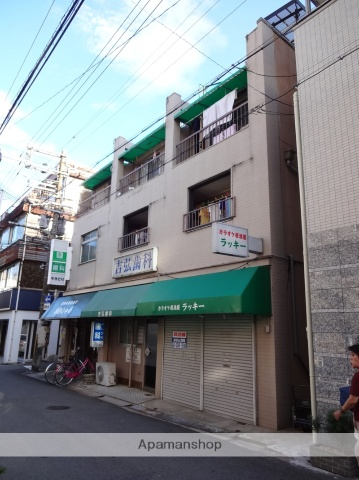 大阪府大阪市阿倍野区、寺田町駅徒歩2分の築40年 4階建の賃貸マンション