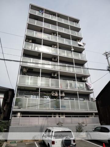 大阪府大阪市東住吉区、東部市場前駅徒歩9分の築22年 8階建の賃貸マンション