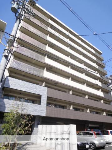 大阪府大阪市阿倍野区、美章園駅徒歩8分の築5年 9階建の賃貸マンション