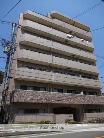 大阪府大阪市阿倍野区、美章園駅徒歩8分の築5年 7階建の賃貸マンション