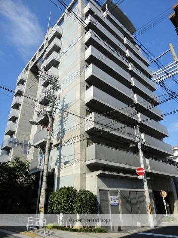大阪府大阪市阿倍野区、昭和町駅徒歩2分の築21年 10階建の賃貸マンション