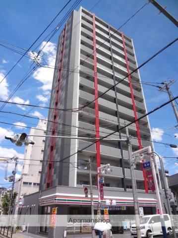 大阪府大阪市住吉区、鶴ケ丘駅徒歩11分の築4年 15階建の賃貸マンション