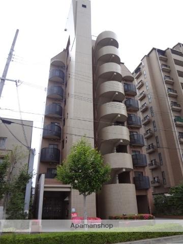 大阪府大阪市東住吉区、北田辺駅徒歩4分の築18年 8階建の賃貸マンション