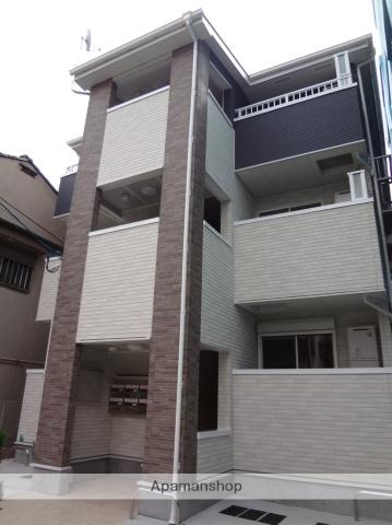大阪府大阪市阿倍野区、南田辺駅徒歩4分の築4年 3階建の賃貸アパート