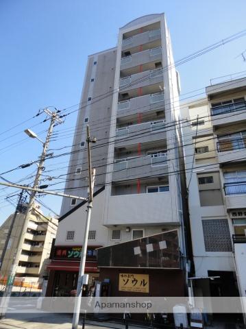 大阪府大阪市天王寺区、鶴橋駅徒歩12分の築10年 8階建の賃貸マンション
