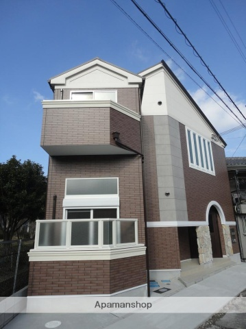 大阪府大阪市東住吉区、今川駅徒歩5分の築3年 2階建の賃貸アパート