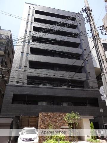 大阪府大阪市天王寺区、桃谷駅徒歩2分の築3年 10階建の賃貸マンション