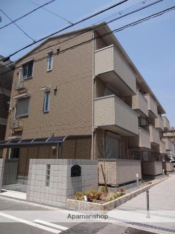 大阪府大阪市住吉区、我孫子町駅徒歩11分の築3年 3階建の賃貸マンション