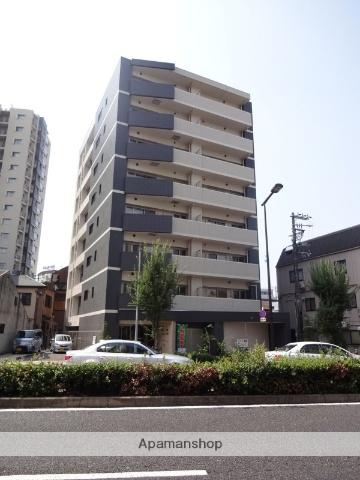 大阪府大阪市阿倍野区、美章園駅徒歩9分の築3年 8階建の賃貸マンション