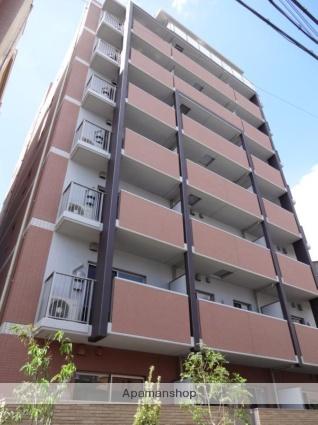 大阪府大阪市西成区、岸里駅徒歩6分の築3年 8階建の賃貸マンション