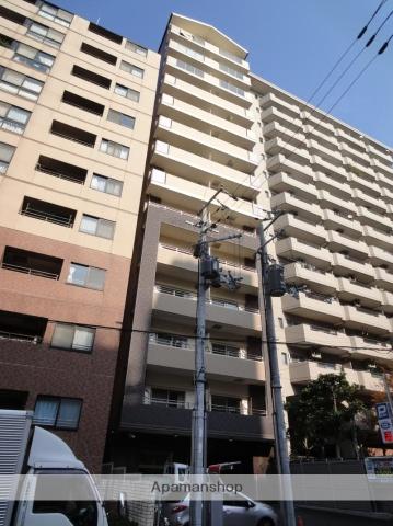 大阪府大阪市中央区、近鉄日本橋駅徒歩10分の築3年 14階建の賃貸マンション