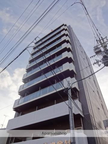 大阪府大阪市住之江区、粉浜駅徒歩5分の築3年 10階建の賃貸マンション