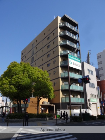 大阪府大阪市天王寺区、大阪阿部野橋駅徒歩10分の築2年 9階建の賃貸マンション