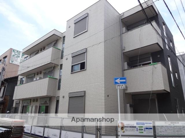 大阪府大阪市住之江区、住ノ江駅徒歩5分の築2年 3階建の賃貸アパート