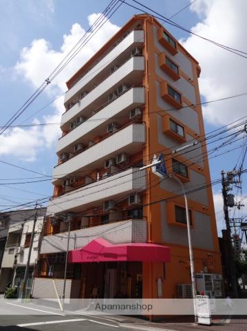 大阪府大阪市東住吉区、北田辺駅徒歩2分の築27年 7階建の賃貸マンション