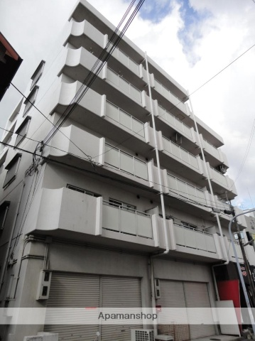 大阪府大阪市東住吉区、東部市場前駅徒歩2分の築31年 6階建の賃貸マンション