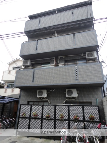 大阪府大阪市東住吉区、今川駅徒歩4分の築27年 5階建の賃貸マンション