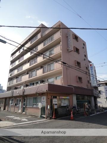 大阪府大阪市生野区、桃谷駅徒歩15分の築36年 6階建の賃貸マンション
