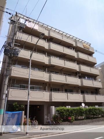 大阪府大阪市天王寺区、桃谷駅徒歩14分の築28年 6階建の賃貸マンション