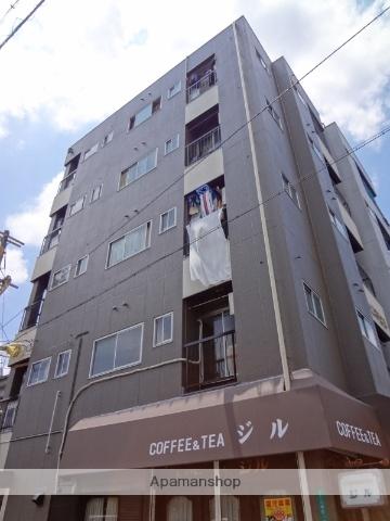 大阪府大阪市阿倍野区、美章園駅徒歩7分の築35年 5階建の賃貸マンション