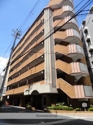 大阪府大阪市阿倍野区、北田辺駅徒歩10分の築27年 7階建の賃貸マンション