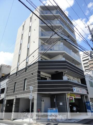 大阪府大阪市天王寺区、桃谷駅徒歩7分の築9年 7階建の賃貸マンション