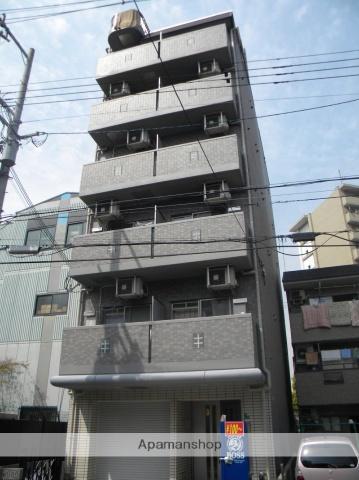 大阪府大阪市阿倍野区、寺田町駅徒歩8分の築9年 7階建の賃貸マンション