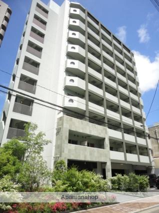 大阪府大阪市東住吉区、東部市場前駅徒歩12分の築9年 10階建の賃貸マンション
