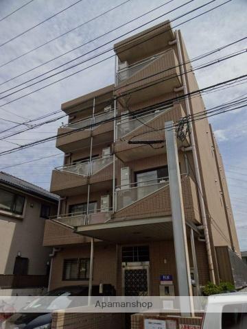 大阪府堺市北区、河内天美駅徒歩18分の築25年 4階建の賃貸マンション