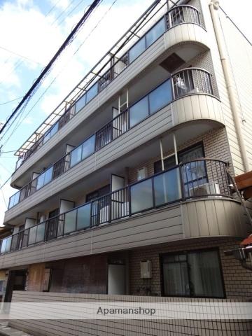 大阪府松原市、河内天美駅徒歩4分の築27年 4階建の賃貸マンション