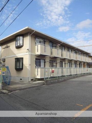 大阪府松原市、布忍駅徒歩23分の築26年 2階建の賃貸アパート