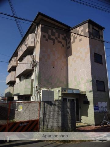大阪府松原市、矢田駅徒歩20分の築26年 4階建の賃貸マンション