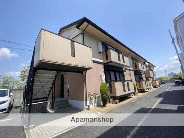 大阪府松原市、河内天美駅徒歩12分の築18年 2階建の賃貸アパート