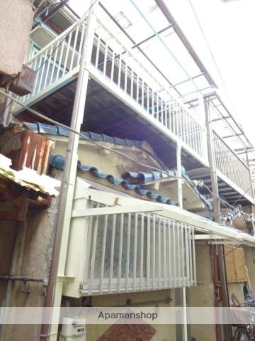 大阪府松原市、河内天美駅徒歩10分の築44年 2階建の賃貸テラスハウス