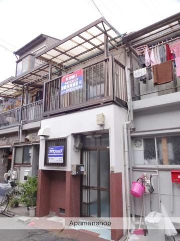 大阪府松原市、布忍駅徒歩19分の築51年 2階建の賃貸テラスハウス