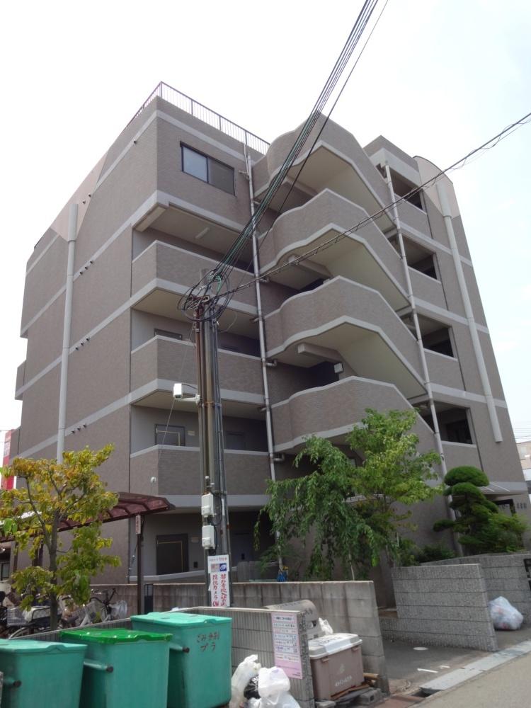 大阪府堺市北区、浅香駅徒歩22分の築12年 5階建の賃貸マンション