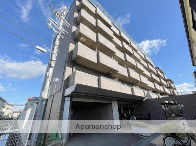 大阪府松原市、河内天美駅徒歩12分の築20年 6階建の賃貸マンション