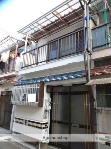 大阪府松原市、布忍駅徒歩10分の築49年 2階建の賃貸テラスハウス