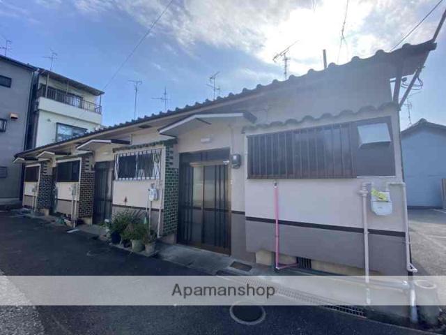 大阪府松原市、河内天美駅徒歩15分の築49年 1階建の賃貸テラスハウス